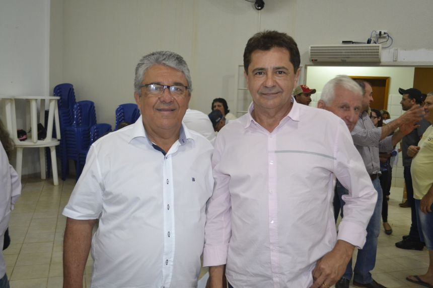 PREFEITO BARALDI RECEBE PALOZI E RATINHO JUNIOR EM AUDIÊNCIA PÚBLICA
