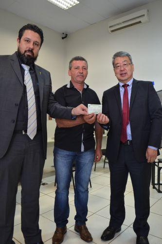 BARALDI, TINTI E PICARETA REALIZAM CADASTRO BIOMÉTRICO EM ALTÔNIA