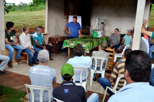 NEMATÓIDES É TEMA DE REUNIÃO DE PRODUTORES DE CAFÉ