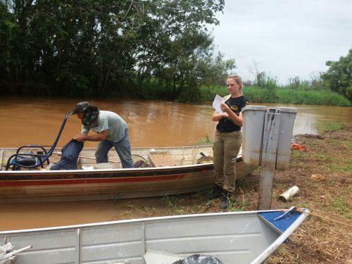 IAP E SEMMA REALIZAM OPERAÇÃO CONJUNTA DE FISCALIZAÇÃO NO RIO PARANÁ