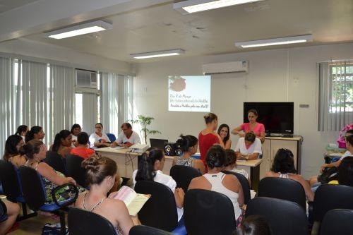 Realizada Reunião das Gestantes do Dia Internacional da Mulher
