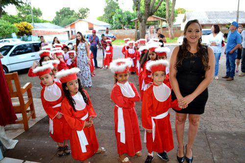 CMEI PE. ERNESTO PEREIRA PROMOVE FORMATURA DAS TURMAS DO INFANTIL
