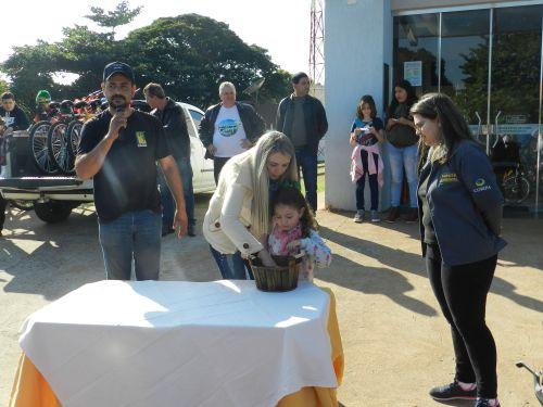 PASSEIO CICLÍSTICO DÁ INÍCIO ÀS COMEMORAÇÕES DO ANIVERSÁRIO DO MUNICÍPIO