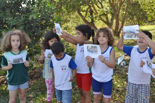 EDUCAÇÃO AMBIENTAL INTEGRA CRIANÇAS DO CMEI
