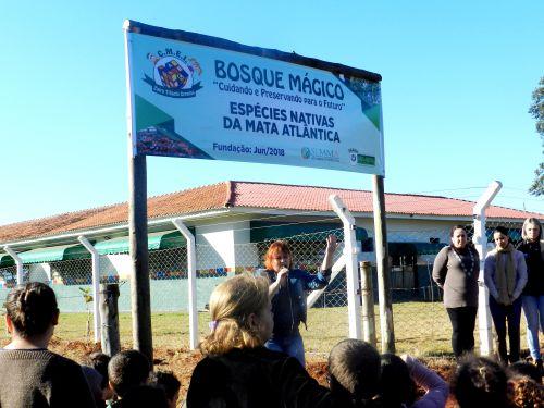 BOSQUE MÁGICO É NOVO MARCO AMBIENTAL NO MUNICÍPIO