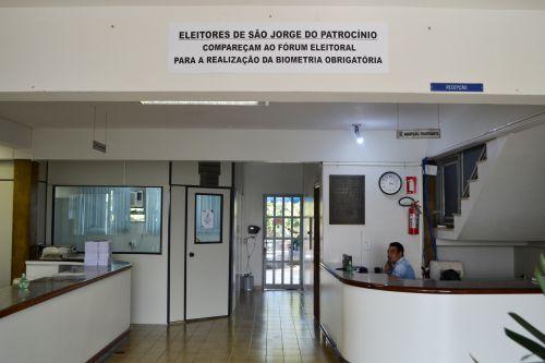 MUNICÍPIO SE MOBILIZA PARA CADASTRAMENTO BIOMÉTRICO ELEITORAL