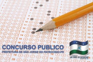 Concurso Publico da Prefeitura de São Jorge do Patrocínio-Pr.