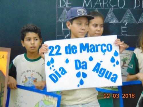 ATIVIDADES LEMBRAM DIA DA ÁGUA EM SÃO JORGE DO PATROCÍNIO