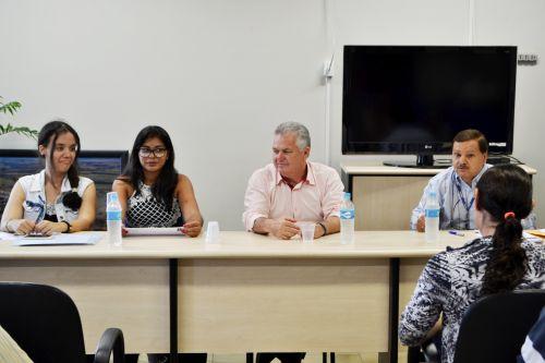 EQUIPE DO CENSO AGRO 2017 REALIZA REUNIÃO DE ACOMPANHAMENTO