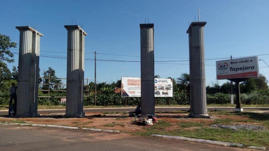 Construção do Portal da Cidade