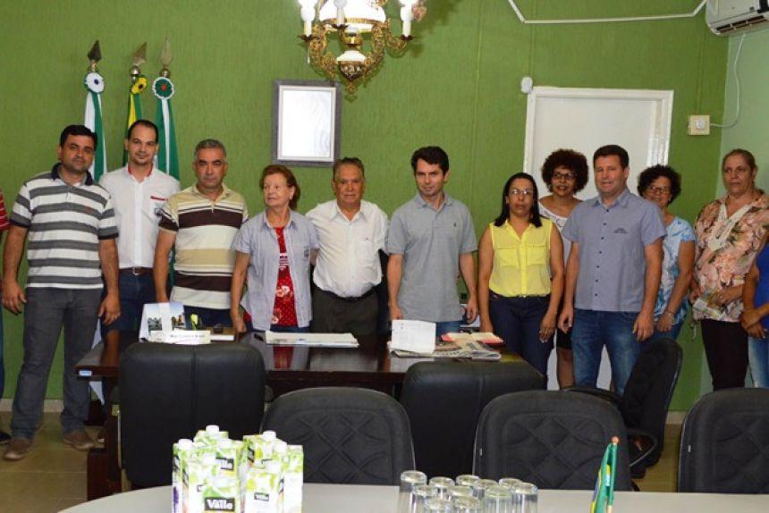 Prefeito Noé recebe visita do Deputado Estadual Alexandre Curi