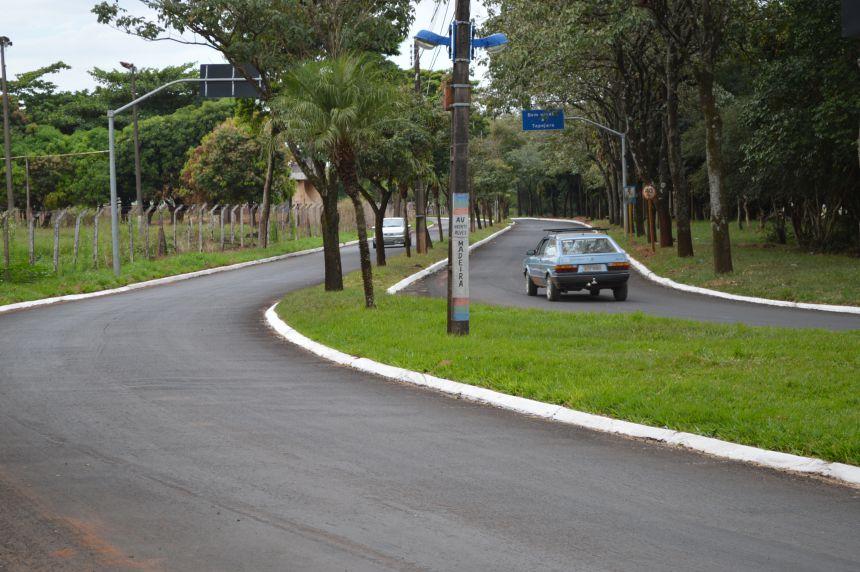 Prefeitura de Tapejara continua com as obras de recapeamento asfáltico