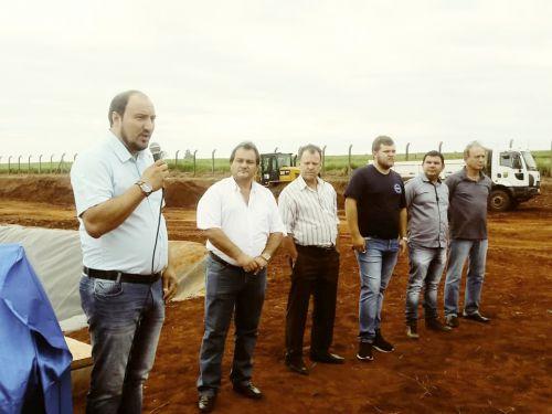Inauguração da Represa da Samae