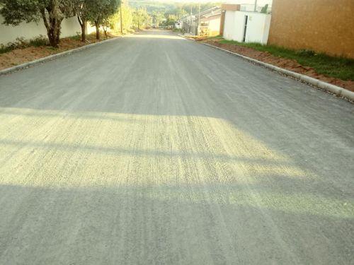 Pavimentação da Rua Minas Gerais