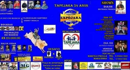 EXPOJARA 2018  www.expojara.site.com.br