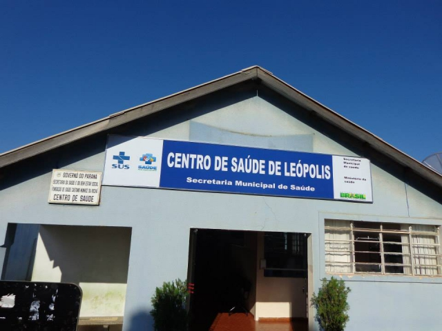 Reforma na Unidade B�sica de Sa�de de L�opolis