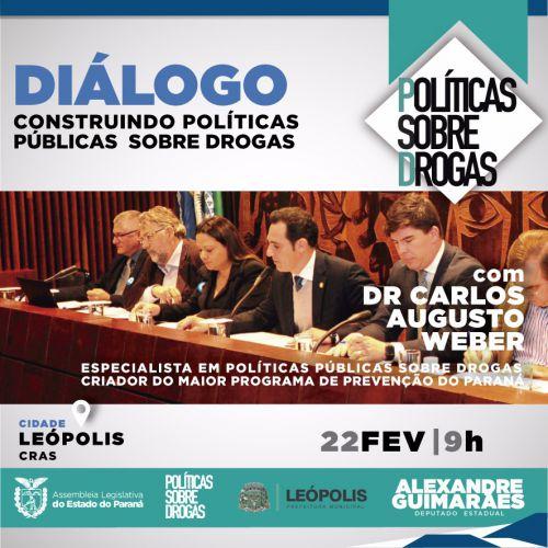 Diálogo - Construindo políticas públicas sobre drogas