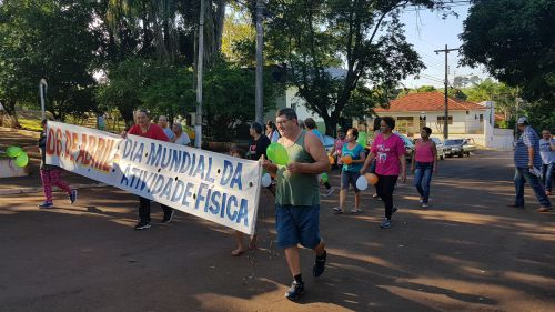 Caminhada - Dia Mundial da Atividade Física