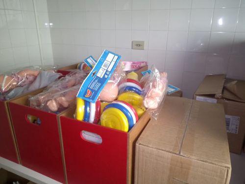 Brinquedos Didáticos aos CMEIs
