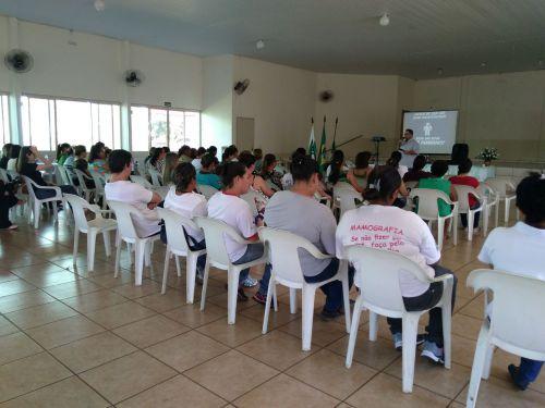 Município de Leópolis promove palestra aos servidores públicos