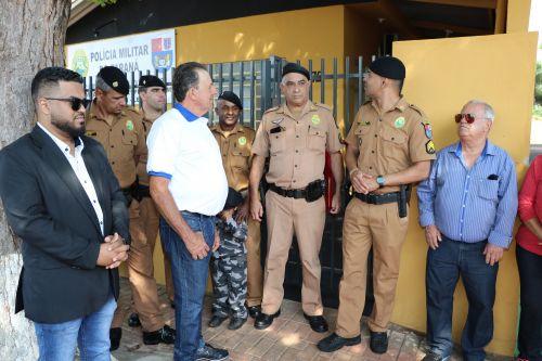 Inauguração da nova sede do Destacamento da Policia Civil