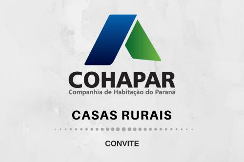Casas Rurais - Convite