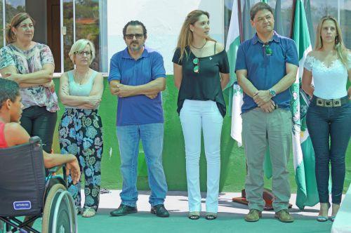 Solenidade de inicio de funcionando da Unidade Básica de Saúde Maria Odília Trombini