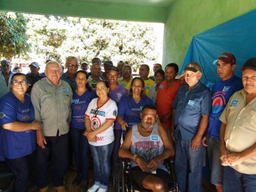 Campanha de combate ao câncer de próstata no distrito de Jandinópolis