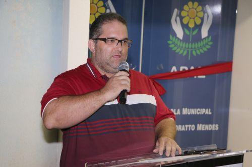 Inauguração da reforma e ampliação na Esc. Mun. Maria Moratto Mendes