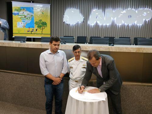 Acordo de Cooperação e lançamento oficial da Operação Yaguaru aconteceu em Cascavel