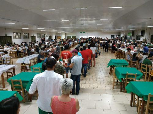 Funcionários Públicos de Jesuítas ganham jantar para comemorar o seu dia