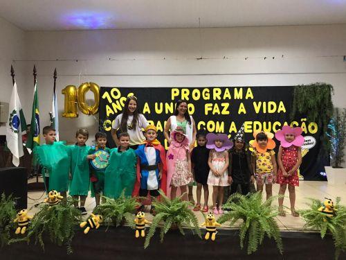 SICREDI e Educação Municipal de Jesuítas comemoram 10 anos do programa