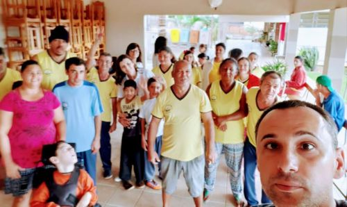 Jesuítas se organiza e população adere ao Dia Do Desafio. Quase 2.500 pessoas envolvidas