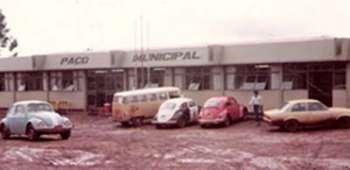 Prefeitura de Jesuitas no ano de 1982.