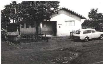 Posto de Saúde no ano de 1981.