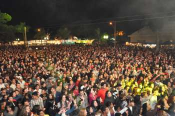Público prestigiou a festa todas as noites, ultrapassando de 20 mil pessoas