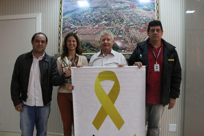 Governo Municipal de Cafelândia apoia a Campanha do Maio Amarelo
