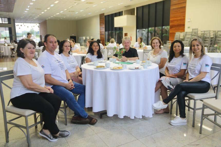 Profissionais da educação participam do 4º Encontro do Programa Educação, Saúde e Sustentabilidade em Cafelândia
