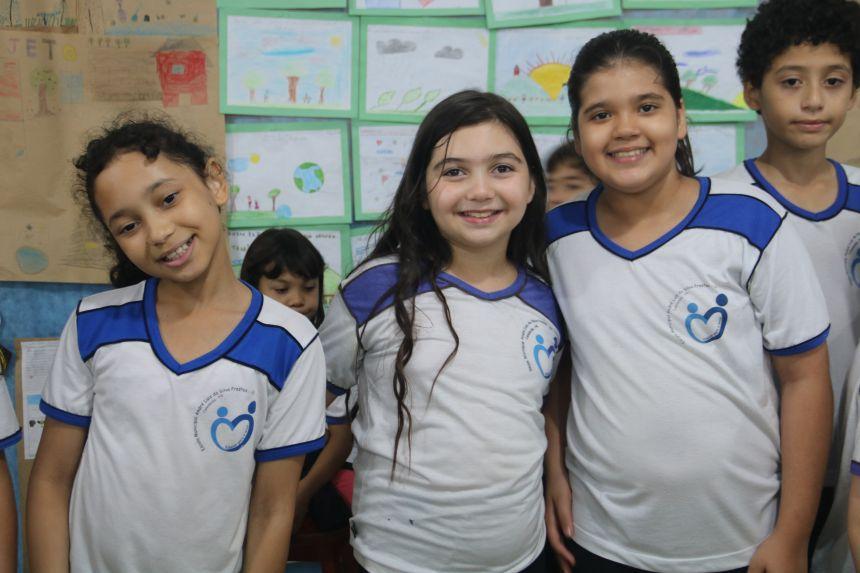 Alunos da Escola André Luiz apresentam os trabalhos do Programa A União Faz a Vida