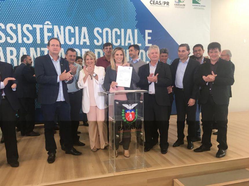 Prefeito Dr. Franus conquista recurso em Curitiba para a Secretaria de Assistência Social