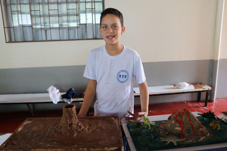 Mostra de Astronomia é realizada na Escola Theofânio de Cafelândia