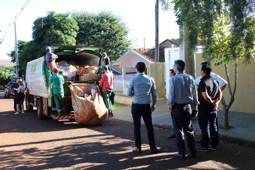 Cafelândia recebe o Tribunal de Contas para auditoria da gestão dos resíduos sólidos