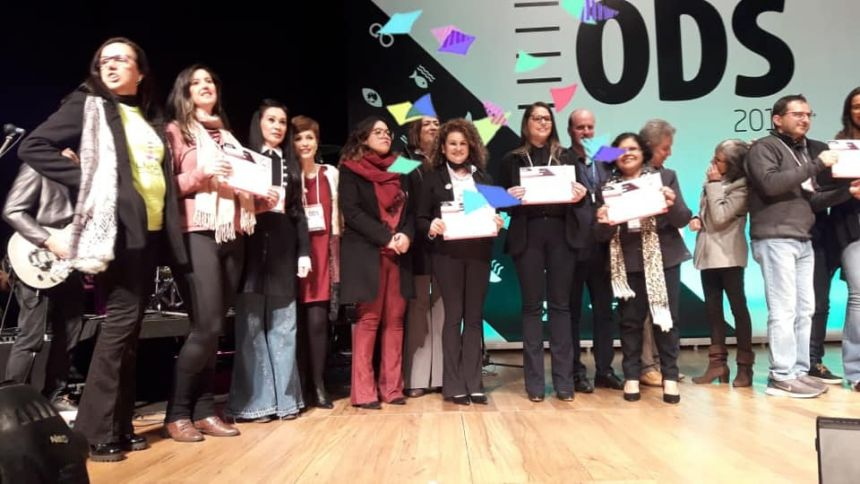APAE de Cafelândia é premiada em Curitiba com o Selo SESI ODS