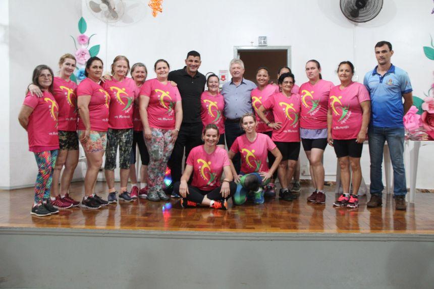 Aulas de aeróbica do Mulher Cafelandense em Movimento retornaram