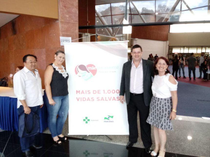 Equipe da Secretaria de Saúde participa do 7º Encontro Mãe Paranaense