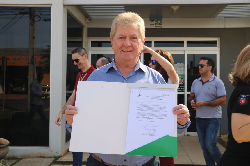 Cafelândia conquista R$ 45 mil do Governo do Estado para a aquisição de um veículo