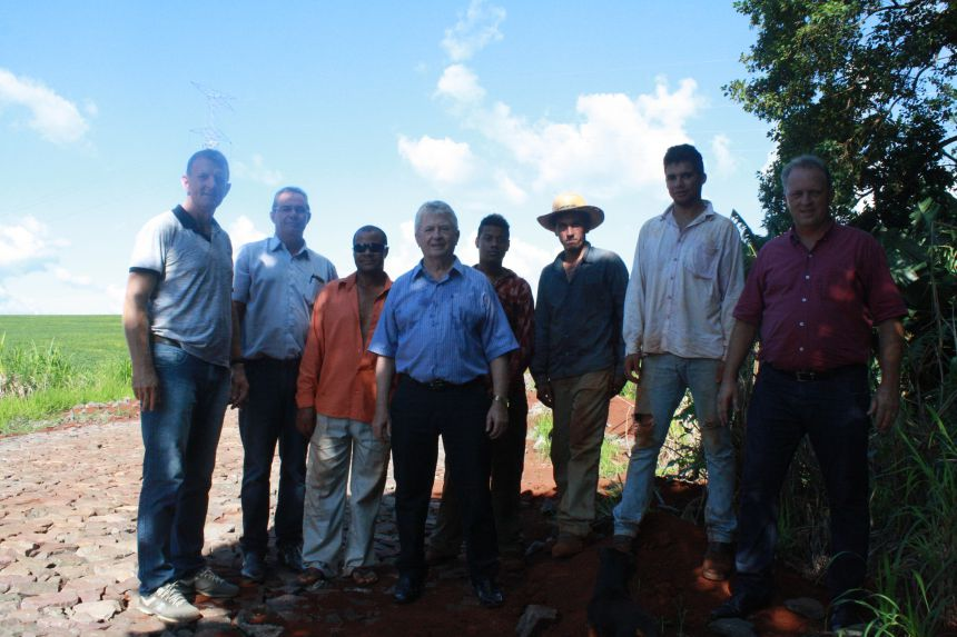 Obras da estrada que liga Central Santa Cruz a Jotaesse são retomadas