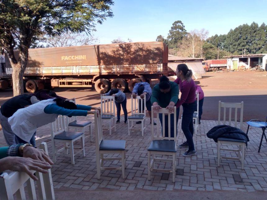 NASF de Cafelândia realiza atividades com os grupos de apoio emocional