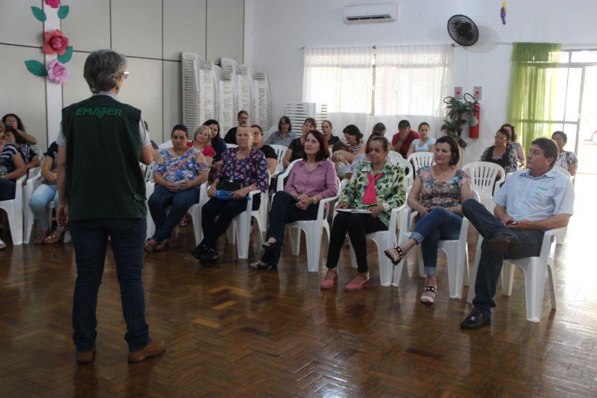 Alimentação saudável é tema de palestra em Cafelândia