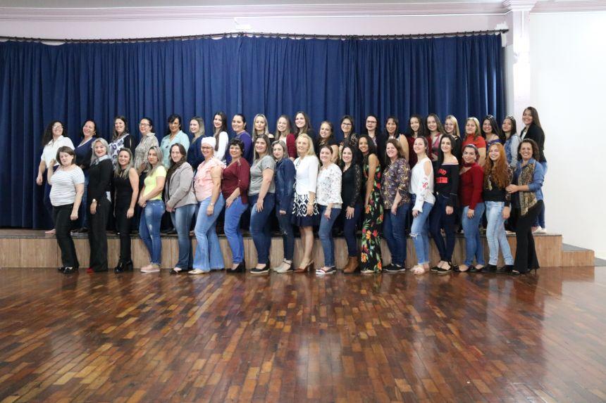 Educação realiza reunião com a equipe do CMEI Anna Parcheta Franus